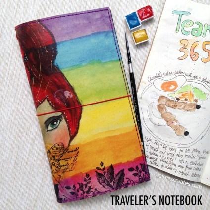 Aireeescreates fauxdori/ traveler's notebook