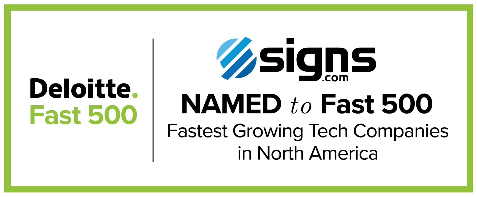 Signs com Named To Deloitte Fast 500 For Second