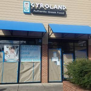 gyroland channel letter sign