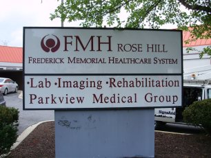 FMH pylon sign