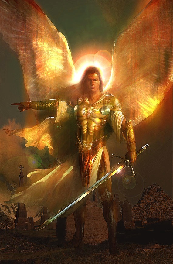 Image result for images angel with drawn sword