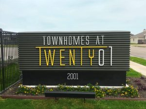 Main ID for Townhomes at Twenty 01