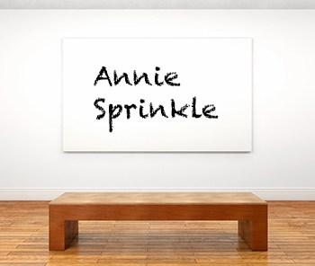 Künstlerbiographie annie sprinkle icon