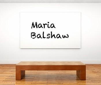 Künstlerbiographie Maria Balshaw icon