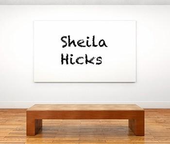 Künstlerbiographie Sheila Hicks icon