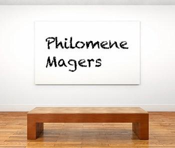 Künstlerbiographie Philomene Magers icon