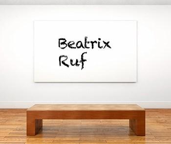 Künstlerbiographie Beatrix Ruf icon