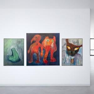 Werkschau des Künstler Georg Pierdsa im Kontext seines Demon-Zyklus
