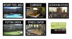 Apartment Amenity Signs