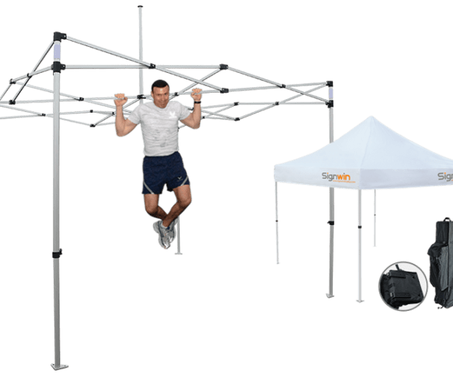 X Custom Pop Up Canopy Tent  X Double Sided Full Walls