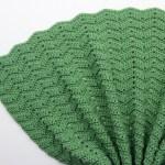 Easy Peephole Chevron Crochet Blanket Free Crochet Pattern Sigoni Macaroni
