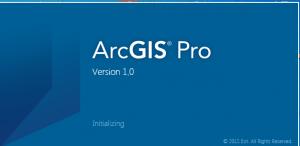 logo arcgis pro 1.0