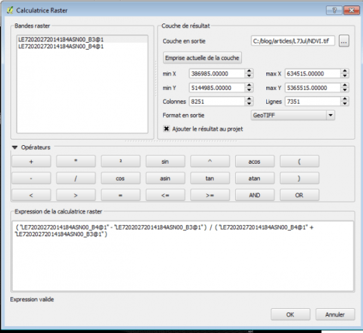 calculatrice raster de qgis 2.8