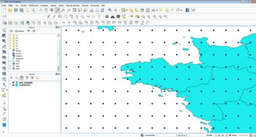 affichage des prévisions marines dans QGis