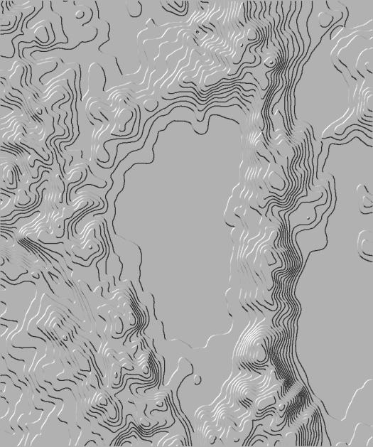 contours éclairés de tanaka