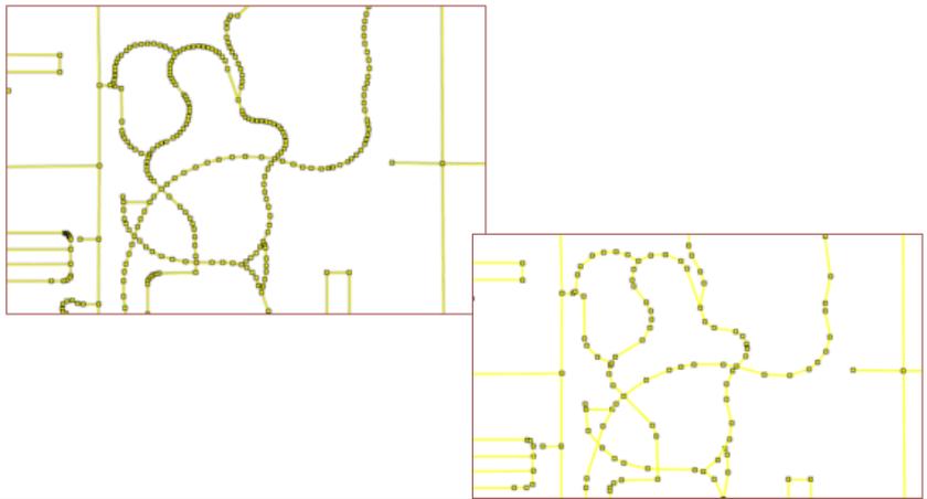 généralisation des données vectorielles
