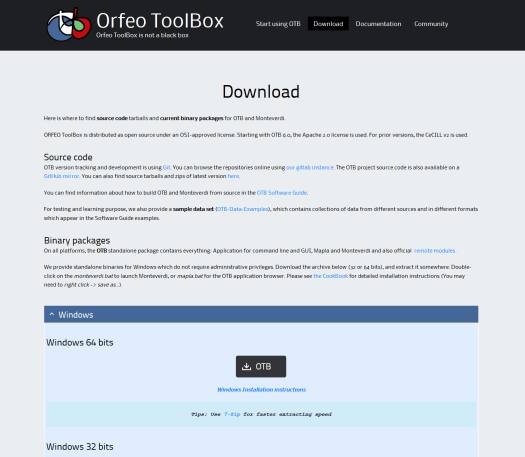 Add Orfeo Toolbox to QGis 3 X | Blog GIS & Territories