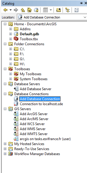 How to load a Postgres / Postgis layer in ArcMap | Blog GIS