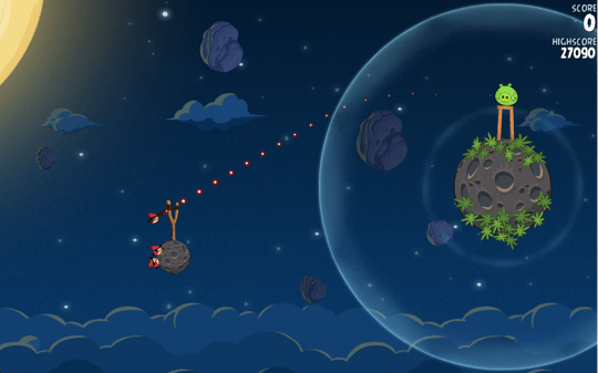 Sihirli elma angry birds space 5a