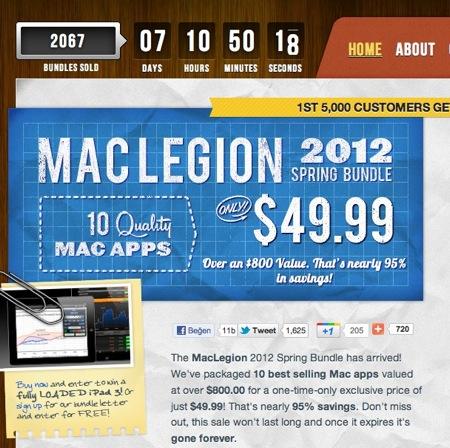 Sihirli elma mac legion spring bundle 2012 1