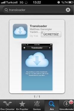 Sihirli elma transloader 7