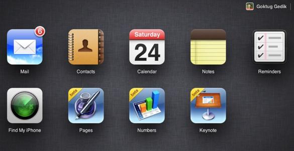 iCloud com yenilendi 2 iCloud.com yeni arayüzüyle karşımızda!
