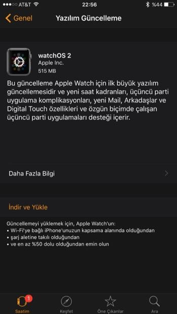 sihirli elma watchos 2 Apple Watch için watchOS 2 yayınlandı!