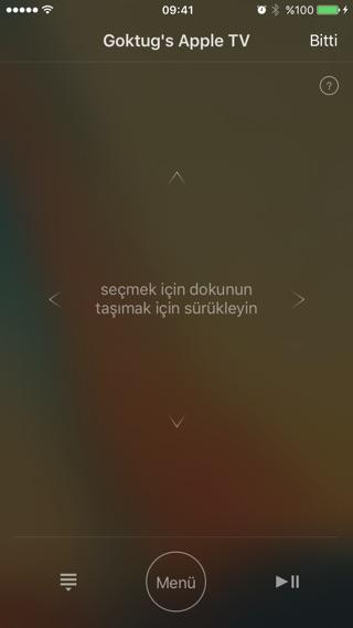 Sihirli elma remote apple tv 4b