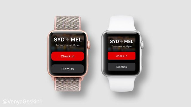 Apple Watch Series 4 Ekran