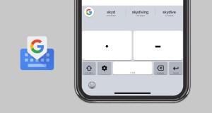 Google Gboard Mors Alfabesi