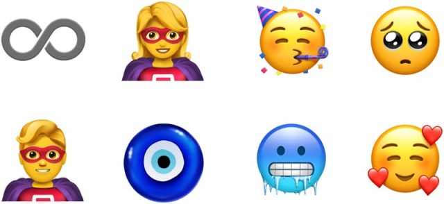 Unicode 11 Emojileri