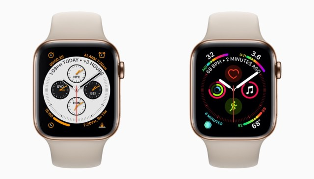 Apple Watch Series 4 Saat Kadranları