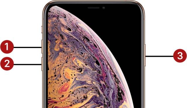 iPhone XS Yeniden Başlatma