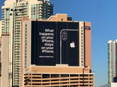 CES 2019 Fuarında Apple'dan Reklam Sürprizi!