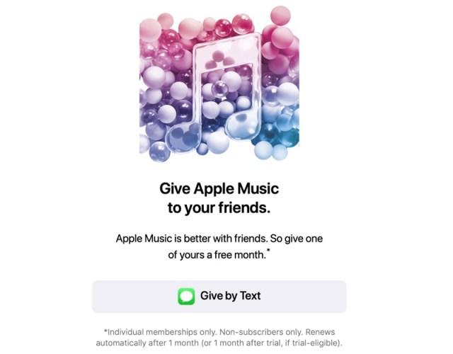 1 Ay Ücretsiz Apple Music