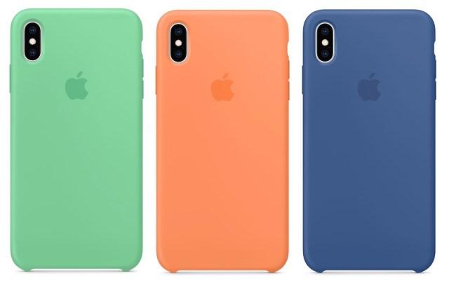 iPhone XS ve iPhone XS Max için silikon kılıf