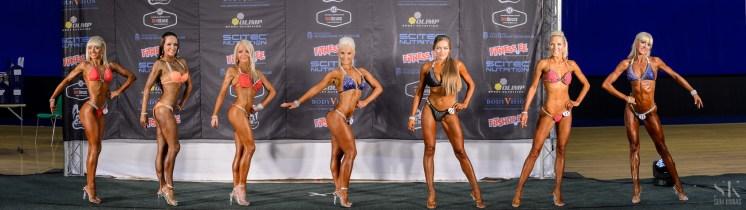 Naised bikini fitness -166 cm