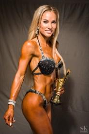 Bikiinifitness -166 atleet Krista Elmend