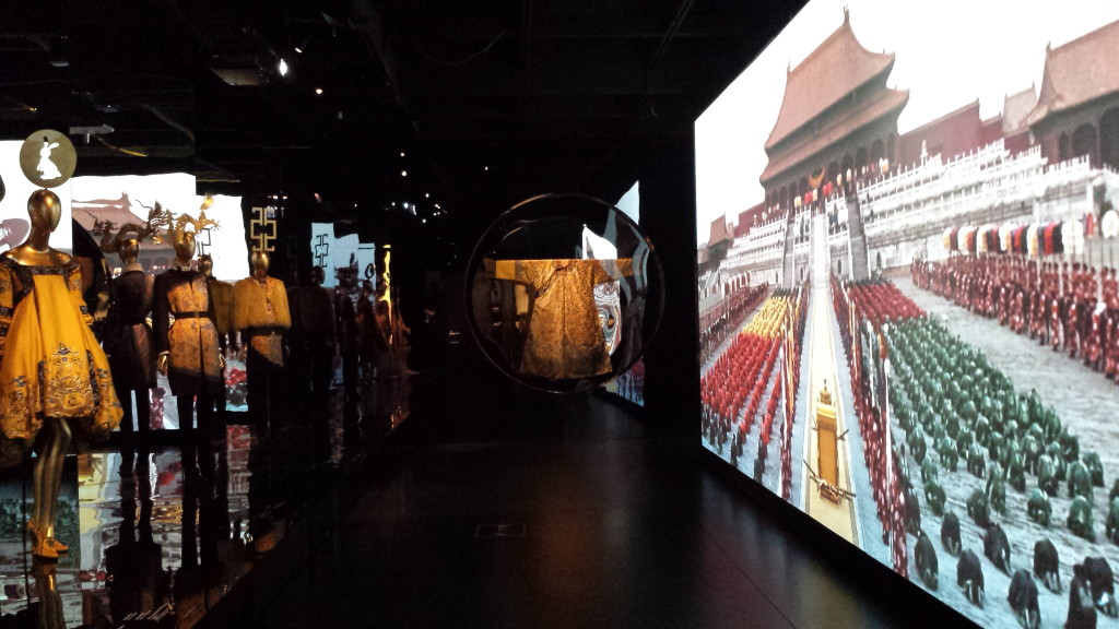 costumes inspired by Qing dynasty emperor's robe