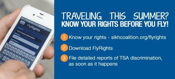 FlyRights app / Sikh Coalition