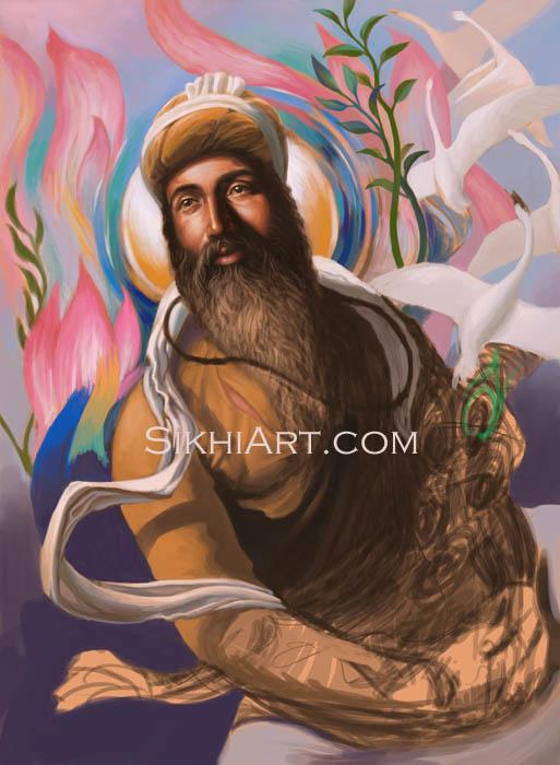 Guru Arjan Dev Spiritual Blossoming, Guru Arjun Dev, Martyrdom