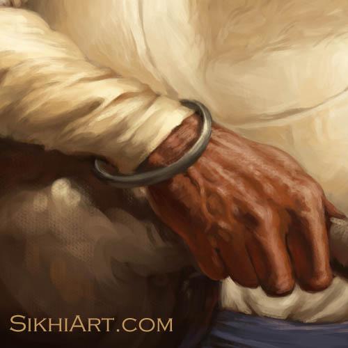 Bhai Kanhaiya Hand Bhai Ghanaiya Guru Gobind Singh Dashmesh Pita Mughal Sikh Bhagat Singh Sikhi Art Sikh Art Punjab Battle of Anandpur Sahib