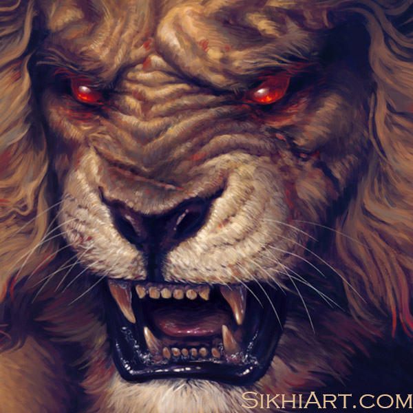 Narsingh Narayan, Narasimha, Vishnu ji, Divine, God, Supreme Being, Man-Lion,The Lion Amongst Men