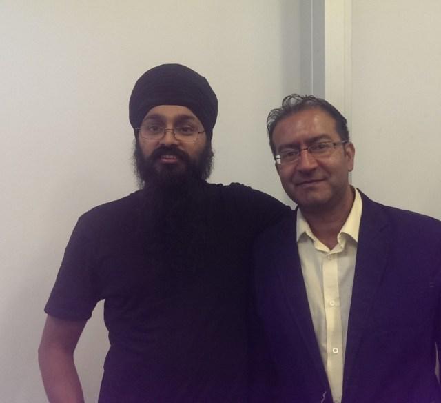 Tranjit Singh and Gurinder Singh Mann