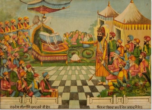 Guru Granth Sahib annointed as Guru
