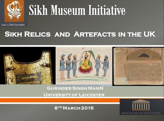 Sikh Museum Initiative lecture