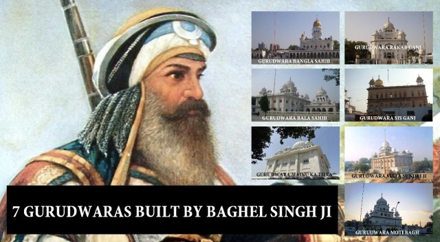 gurudwaras built by baghel singh