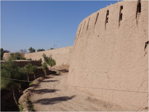 Exterior walls of the Bara Fort
