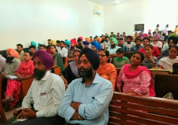 Khalsa College: Anglo Sikh Wars Lecture Report