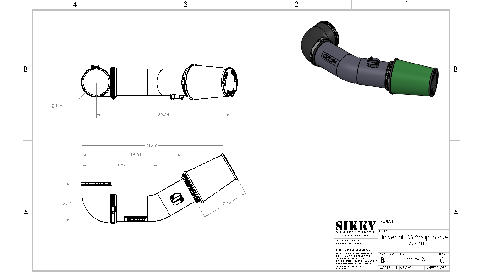 Ls3 Swap Air Intake